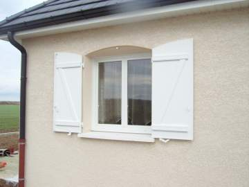 Porte Fenêtre cintré